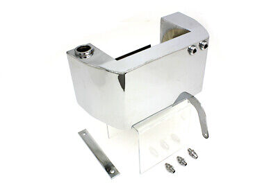 Electric Start Oil Tank Chrome,for Harley Davidson motorcycles,by V-Twin
