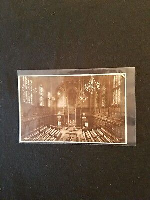 The House of Lords Westminster Black & White Vintage Postcard - Unused