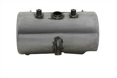 Raw Round Oil Tank,for Harley Davidson motorcycles,by V-Twin