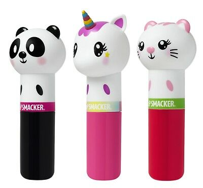 LIP SMACKER Flavored LIPPY PALS Animal Character Shaped LIP BALM New*YOU CHOOSE*