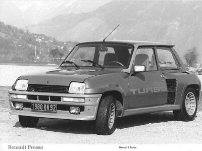 1980 Renault 5 Turbo ORIGINAL Factory Photo oua2233