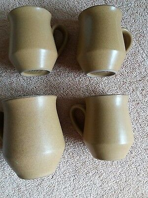 denby ode  3 small coffee cups and one large