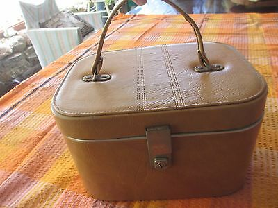 Vintage 70s Vanity Beauty Case made in England