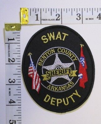 Benton County Arkansas Sheriffs Department Swat Shoulder Patch