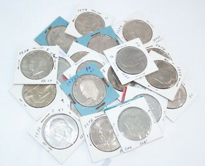 Lot of (20) Mixed Years Ike Eisenhower Dollars Winner Takes All - FREE Shipping