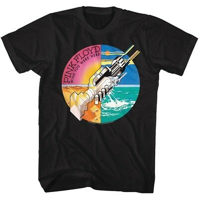 Pink Floyd Wish You Were Here Adult T Shirt Psychedelic Music