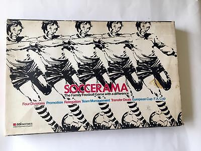 Soccerama : the Family Football Board Game - Vintage 1968 - Complete - Rare