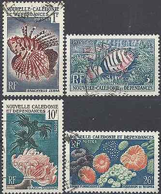 New Caledonia N°291/294 - Obliteration Stamp Has Date