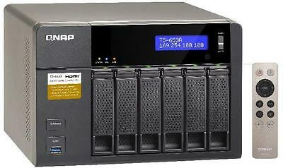 QNAP TS-653A-4G 6-Bay Network Attached Storage Enclosure with 4GB RAM