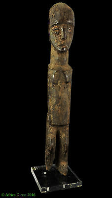 Lobi Bateba Thil Shrine Statue Male African Art Miniature