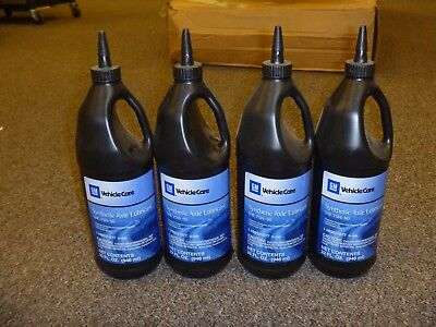 GM Synthetic Axle Lubricant SAE 75W-90 32 FL OZ Unopened OEM 89021677 SET OF 4