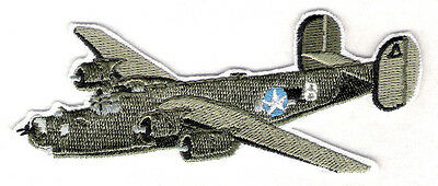 B24 BOMBER Airplane Aircraft Aviation Collectable WW2 Military EmbroideredPatch
