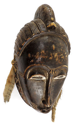 Yaure Mask with Serrated Beard Cote D'Ivoire African Art    SALE WAS $450