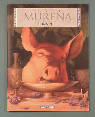 Murena 10 Le Banquet Theo Dufaux Dargaud Dossier Presse