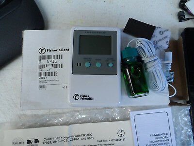Fisher Scientific Digital Laboratory Thermometer Fahrenheit - 1 Count
