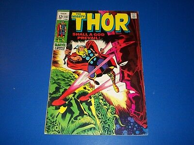 The Mighty Thor #161 Silver Age Galactus Wow Ego