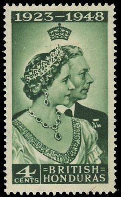 BRITISH HONDURAS 129 (SG164) - King George VI Silver Wedding (pa87995)