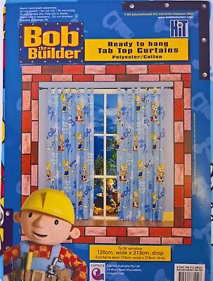 ~ Bob the Builder - & WENDY READY TO HANG CURTAINS