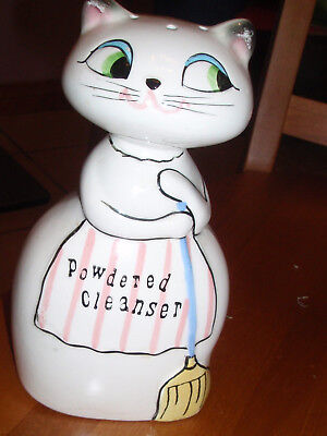 Holt Howard Cozy Kitten Cat Powdered Kitchen Cleanser TLC 1959