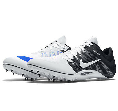 846650504bc New Nike Zoom JA Fly 2 Mens Track   Field Spikes Sprint Shoes   White Black