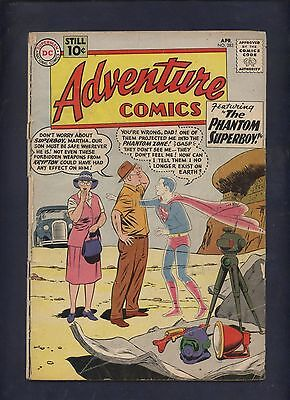 Adventure comics 283 Dc silver age 1st phantom Zone, 1st general Zod