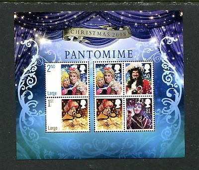 Great Britain 2607, 2008 Christmas (Pantomine Actors),  Mnh (Id5652)