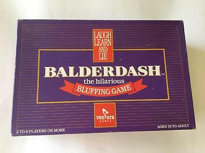 Balderdash Board Game - The Hilarious Bluffing Game - 100% Complete - 1984