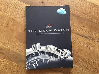 The Moon Watch Buch / Omega Speedmaster Professional / Nasa / Deutsch