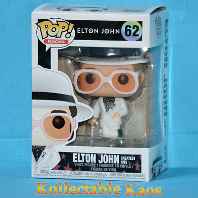 Elton John - Elton John in White Suit Pop! Vinyl Figure