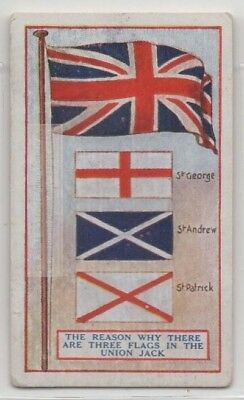 3 Flags Combined Make the Union Jack Flag 90+  Y/O Trade Ad Card