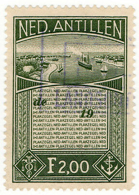 (I.B) Netherlands Antilles Revenue : Duty Stamp 2f