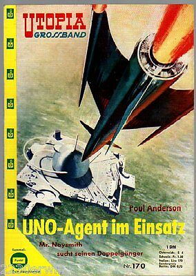 UTOPIA GROSSBAND 170 / Poul Anderson / (1956-1963 PABEL Verlag)