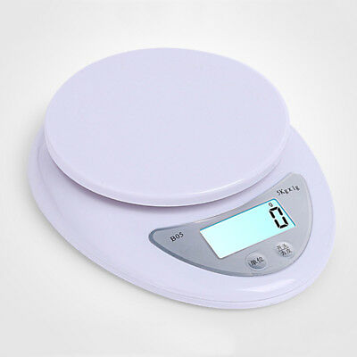 Kitchen Scale 1-5000 g Diet Food Compact LCD Digital Display Kitchen Scale 0.1g
