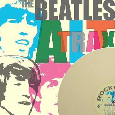 "The Beatles "" Alt Trax "" Mint Uk Lp *** Coloured Vinyl *** Numbered Official"