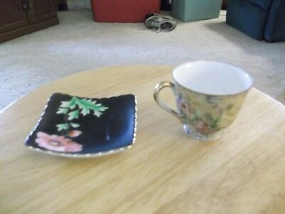 A Vintage China Cup And Saucer Made In Occupied Japan