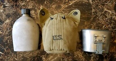 WW2 US Army Canteen Cup & Cover MINT 1943 Shane MFG CO COVER