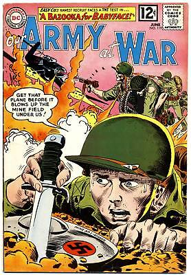 OUR ARMY AT WAR #119 VG, Joe Kubert, Sgt Rock Easy Company, DC Comics 1963