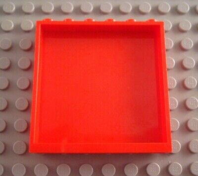 LEGO Red 1x6x5 Wall Panel Part