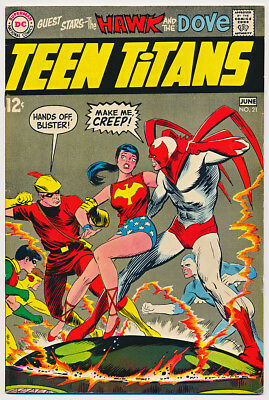 TEEN TITANS #22 VG, ROBIN, KID FLASH, Neal Adams A, DC Comics 1969