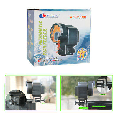 Automatic Auto Fish Food Feeder Aquarium Feeding once each 12 hours or 24 hours