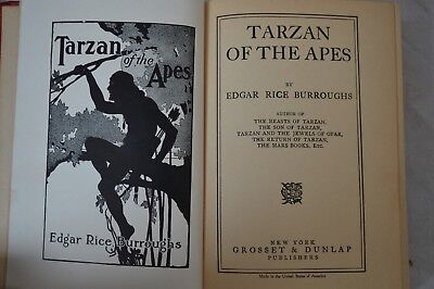 Tarzan of the Apes by Edgar Rice Burroughs Published June 1914