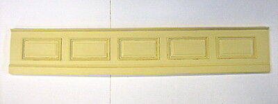 DOLLHOUSE MINIATURE VICTORIAN WALL PANEL STAINABLE PAINTABLE