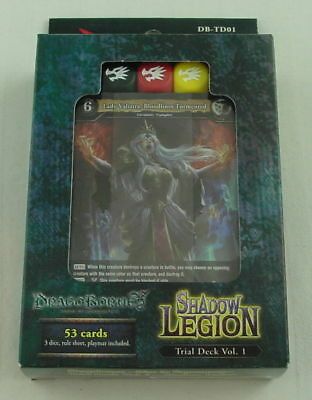Dragoborne Rise to Supremacy: Shadow Legion 53-Card Trial Deck Vol 1 YCW403630-S