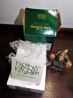 "2003 Harmony Kingdom Disney WDWRSWOH ""Perfect Disguise""  RARE MIB LE 1000 Witch"
