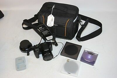 Canon PowerShot SX530 HS 16.0MP Digital Camera - Black, Wi-Fi w/ Bower Wide Lens