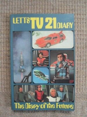 Vintage Gerry Anderson 1970 Tv 21 Lets Diary Thunderbirds Etc