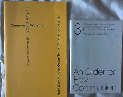 Holy Communion Order Two  in contemporary language --  structure , rules , texts
