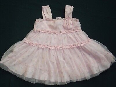 Little Willow Blossom☆wunderschönes Kleid f.Girl☆Rosa/Tüll/☆0-3☆England