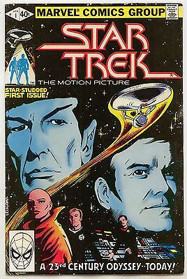 Star Trek Marvel us-comics 1980 no. 1-9, 11-17 Space Ship Enterprise USA