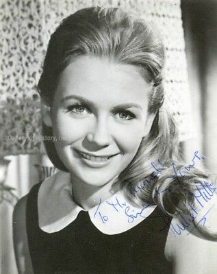 Juliet Mills - Inscribed Photograph Signed